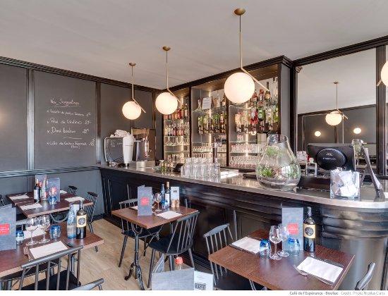 Bouliac, France: salle du bar