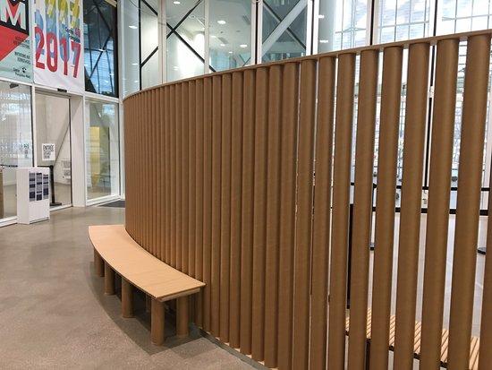 À l\'intérieur - Picture of Centre Pompidou-Metz, Metz - TripAdvisor