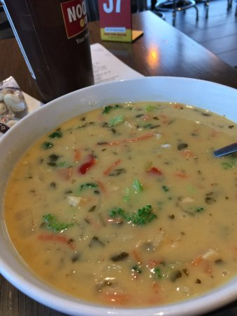 Concord, CA: thai soup added broccoli & carrots