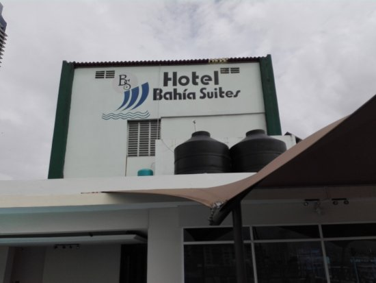 Bahia Suites Hotel: cartel exterior