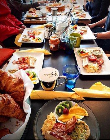 La Tour-de-Peilz, سويسرا: Delicious brunch after a yoga class on Sunday morning