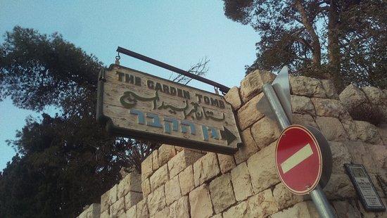 Golgotha (le Mont du Crâne) : The Garden Tomb