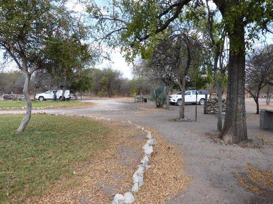 Rundu, Namibia: The campsite