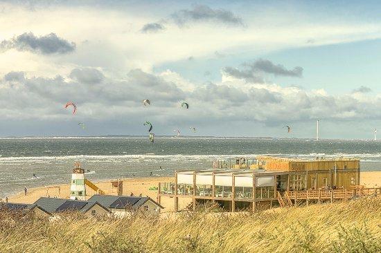 Vertigo Kitesurfschool & Strandrestaurant De Dam Vrouwenpolder, Zeeland