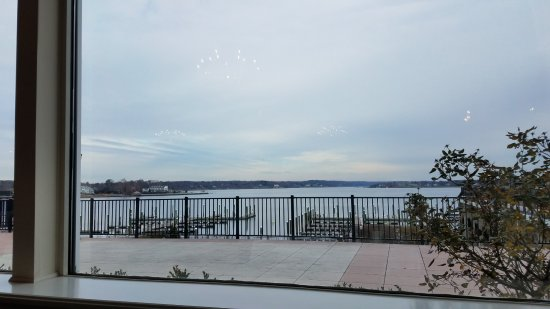 Red Bank, NJ: View out to the terrace