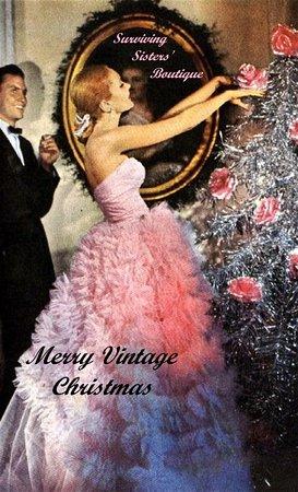 Hyde Park, Estado de Nueva York: Surviving Sisters' Boutique wishes everyone a very Blessed, Merry Vintage Christmas!