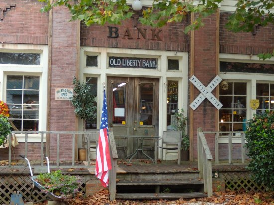 The Old Liberty Bank in Juliette GA