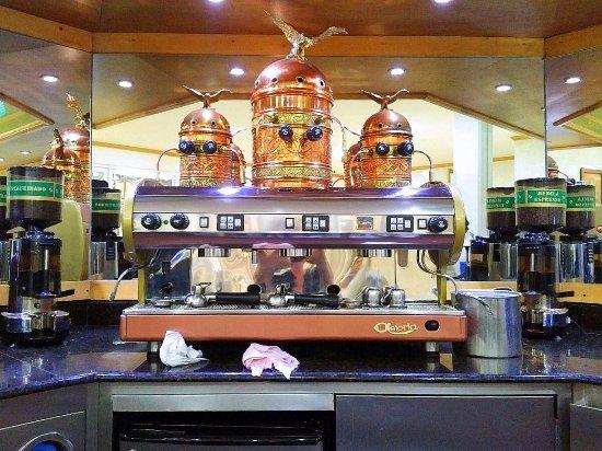 The Italian Coffee Company: This is where the coffee magic happens!