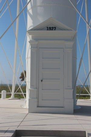 Gasparilla Island State Park: Gasparilla Island Lighthouse door