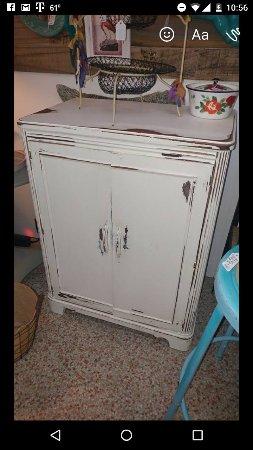 Pinellas Park, Floride : Absolutely a lovely store full of fun surprises! Love my chic shabby cabinet from a friendly fam