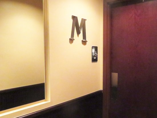 Clarksburg, MD: In Maryland, Rest Rooms Are Still Signed As To Gender, in D.C., It's Illegal