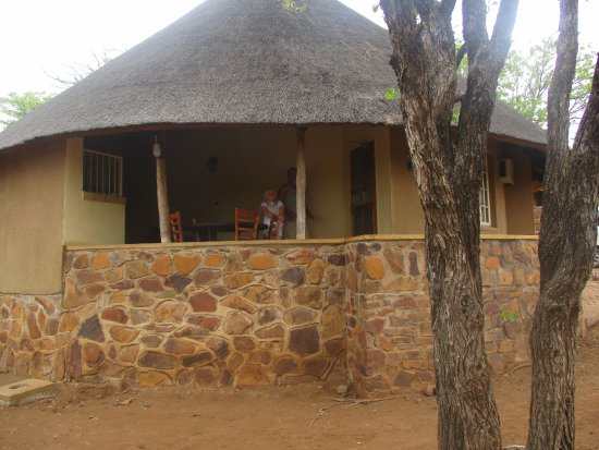 Olifants Rest Camp : Our bungalow.