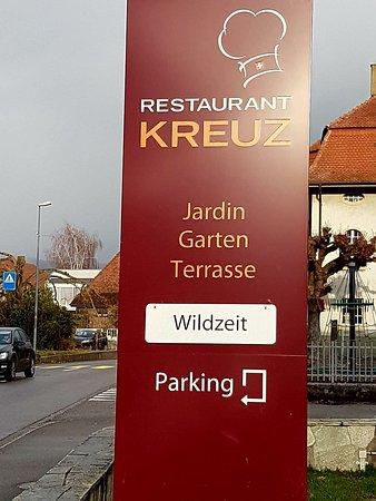 Gals, Switzerland: Restaurant à ne pas louper....