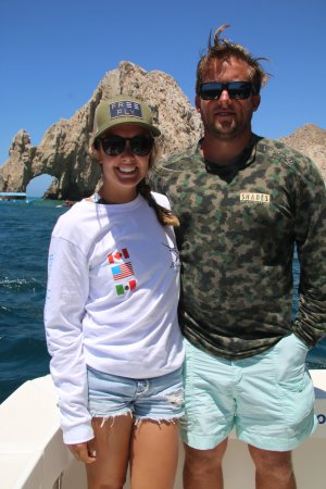 Blue Sky Cabo Fishing and Tours: Blue Star  32' at dock F - Cabo Marina