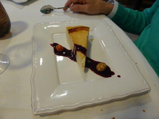 Cascante, Spain: Tarta de queso