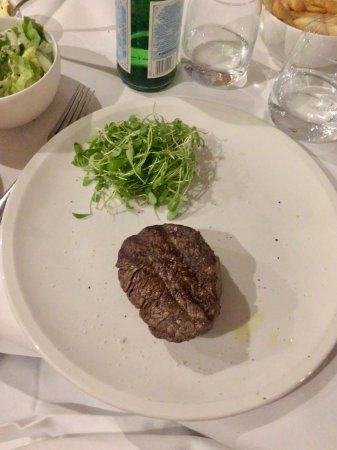 Zaventem, Belgium: The steak
