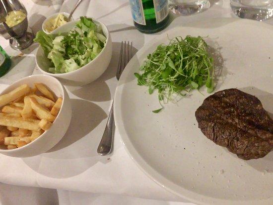 Zaventem, Belgium: The full meal