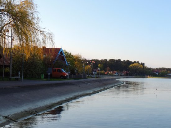 Condado de Klaipeda, Lituania: Набережная г. Нида
