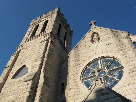 Huntington, WV: St Joseph's Church facade