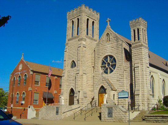 Huntington, WV: St Joseph's Church - towers