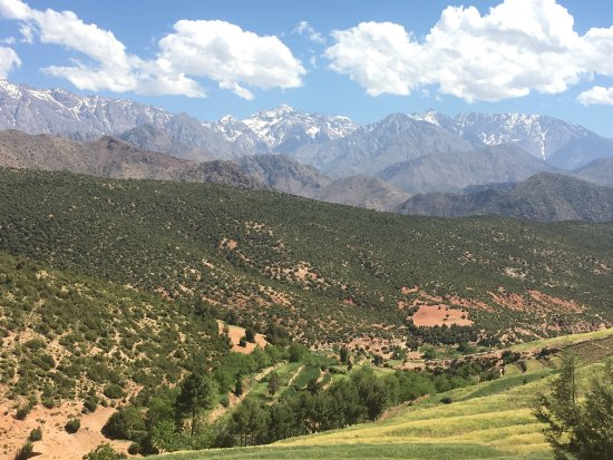 Marrakech-Tensift-El Haouz Region, Morocco: The stunning high Atlas Mountains