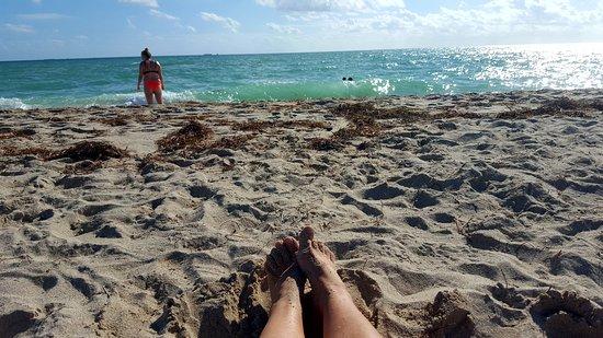 Villa Paradiso: South Beach напротив