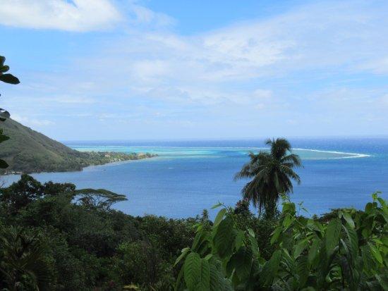 Papetoai, Fransk Polynesia: Une des 2 baies de Moorea