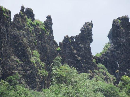 Papetoai, French Polynesia: Forme bizarre...