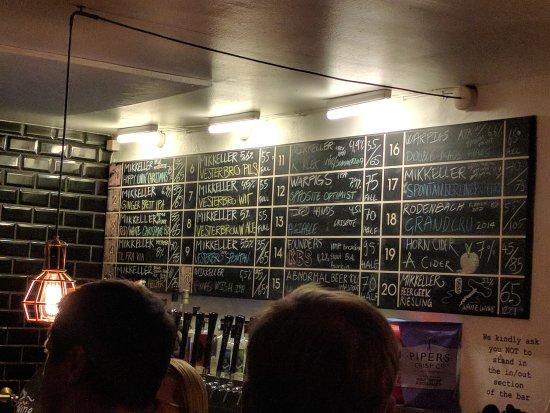 Photo of Modern European Restaurant Mikkeller Bar at Viktoriagade 8 B-c, Copenhagen 1655, Denmark