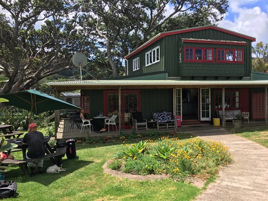 Tryphena, New Zealand: Pa Beach Cafe