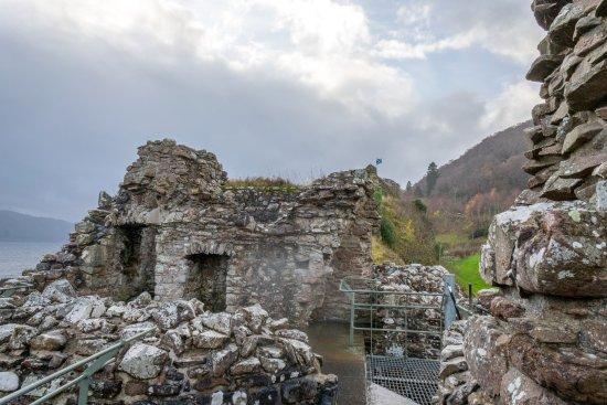 Drumnadrochit, UK: Above the jail at Urquhart Castle