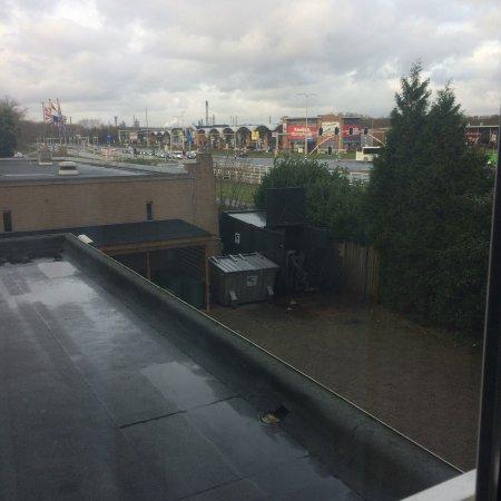 Spijkenisse, Nederländerna: Mooi uitzicht van uit de kamer