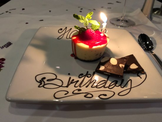 Awe Inspiring Birthday Cake Like No Other Picture Of Ruths Chris Steak House Personalised Birthday Cards Sponlily Jamesorg
