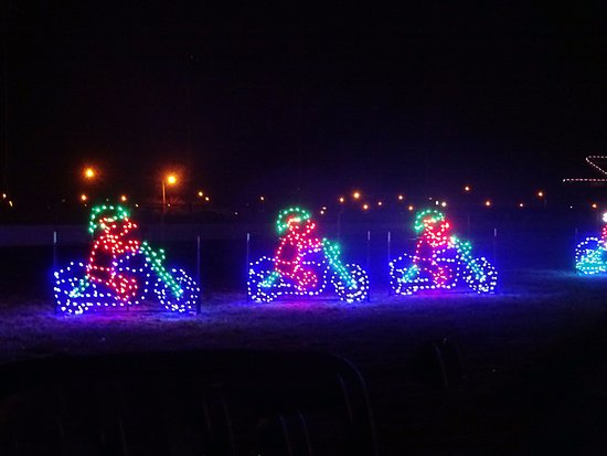 Madison, IL: Elves on Motorcycles