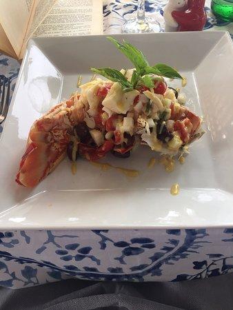 Saint George, Antigua: Lobster Catalana