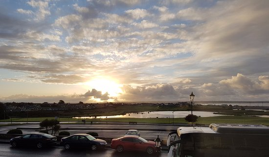 Tramore, Ireland: View from the hotel