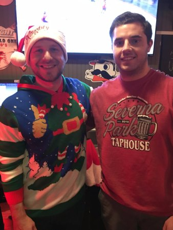 Severna Park, MD: Ugly sweater competition bartenders
