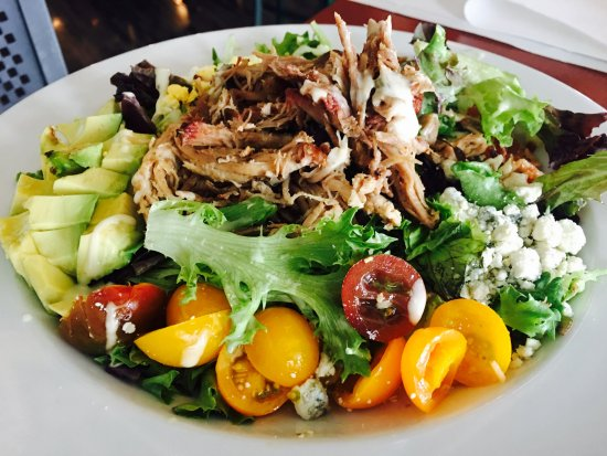 Highlands Ranch, CO: Want a healthier option? Get your pulled pork in a Cobb Salad. Delicious!