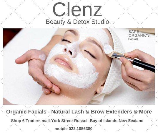 Bay of Islands, Selandia Baru: Organics Facials