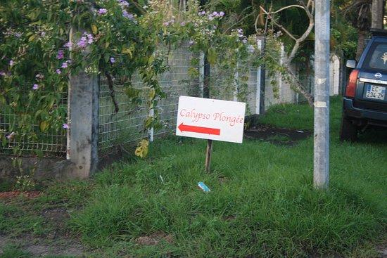 Trois-Ilets, Martinique: Vous ne pouvez pas vous tromper c'est indiqué