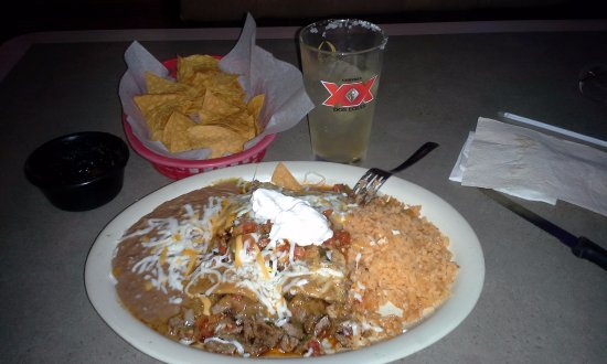 Hardeeville, SC: Enchiladas Mexicana (A Chef's Specialty)