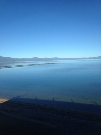 Tahoe Lakeshore Lodge and Spa: View from the deck