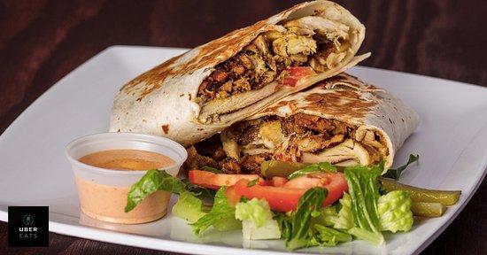 Beaverton, Oregón: chicken shawarma