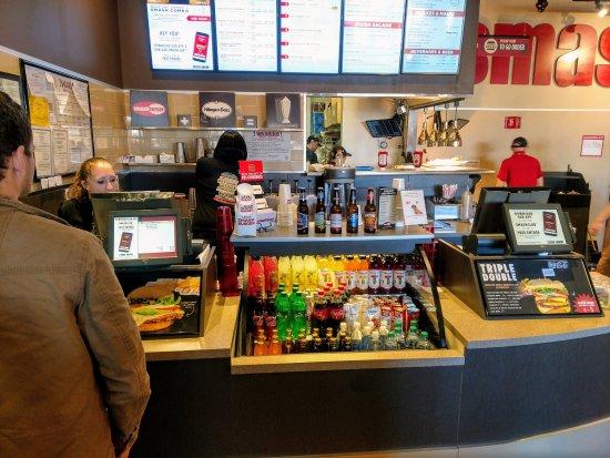 Smash Burger: Ordering