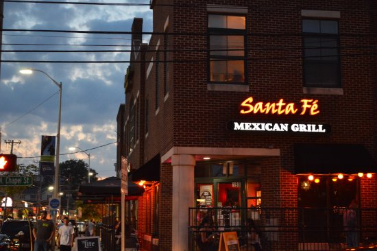 Santa Fe Mexican Grill: Sunset