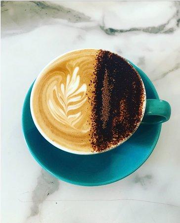 Yackandandah, Australia: Cappuccino