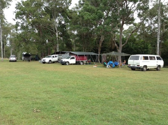Imbil, Australia: Site 3 has the best of both worlds providing plenty of shade as well as a beautiful sunny area.