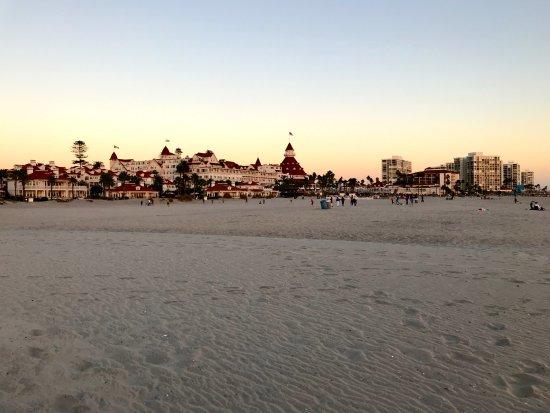 Beach and Hotel del Coronado