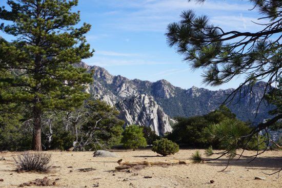 Idyllwild, Kalifornien: A view on the way up to Tahquitz Peak.