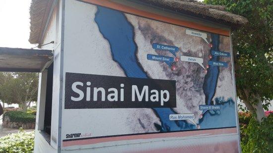 Sharm El Sheikh Marriott Resort: The Map of your location